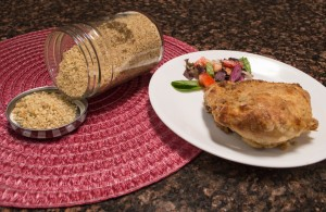 Gluten-Free Breadcrumb Coating for Oven Baked Chicken